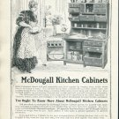 Original 1905 McDougall Kitchen Cabinets Advertisement Print Ad G. P. McDougall & Son