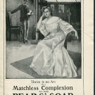 Original 1905 Pears Soap Matchless Complexion Original Early 1900's Print Ad Advertisement