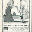Original 1905 Lackawanna Railroad Pocono Mountains Early 1900s Ad Vintage Advertisement