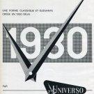 Original 1965 Universo SA Switzerland 1960's Swiss Print Ad Publicite Suisse Schweiz Suiza