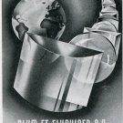 1949 Blum et Fluckiger SA Switzerland 1940's Swiss Print Ad Suisse Publicite