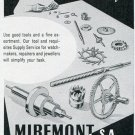 1949 Miremont SA Switzerland 1940s Swiss Print Ad Advert Suisse Publicite Horology