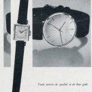 Vintage 1956 Corum Watch Company Ries Bannwart & Co Switzerland Swiss Print Ad Publicite Suisse