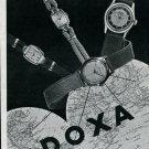 Original Doxa Watch Company Switzerland 1946 Swiss Print Ad Advert Publicite Suisse