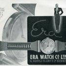 1940 Era C. Ruefli-Flury & Co Watch Company Swiss Print Ad Publicite Suisse Montres