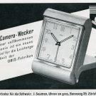 1945 Oris Clock Company Switzerland 1940s Swiss Print Ad Publicite Suisse Schweiz