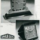 1945 Angelus Stolz Freres SA Fabrique d'Horlogerie Swiss Print Ad Advert Publicite Suisse