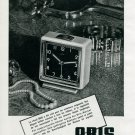 1945 Oris Watch Co. S.A. Switzerland Original 1940's Swiss Print Ad Suisse Publicite Schweiz