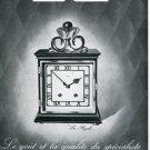 1946 Luxor Clock Company Montres Luxor SA Original Swiss Print Ad Publicite Suisse Schweiz