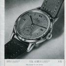 1946 Mido Watch Company Original 1940's Swiss Print Ad Publicite Suisse Montres Schweiz