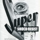1946 Super Shock-Resist Erismann-Schinz Swiss Print Ad Advert Publicite Suisse Schweiz Horology