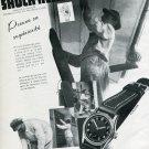 1940's Erismann-Schinz Shock Resist Vintage 1946 Swiss Ad Advert Publicite Suisse Schweiz