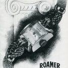 1946 Roamer Watch Company Original 1940's Swiss Print Publicite Suisse Schweiz
