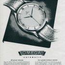 1945 Omega Watch Company Gameo SA Original 1940's Swiss Print Ad Publicite Suisse Scgweiz Montres