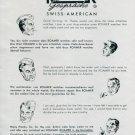 1945 Roamer Watch Company Switzerland 1940's Swiss Print Ad Publicite Suisse Montres Schweiz