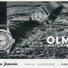 1939 Olma Numa Jeanin S.A. Watch Company Switzerland Swiss Print Ad Publicite Suisse Montres