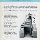 1969 Tony Vaurillon S.A. Geneva Switzerland Swiss Print Ad Advert Publicite Suisse