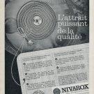 1965  Le Spiral Nivarox Saint-Imier Switzerland Swiss Print Ad Publicite Suisse Schweiz