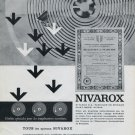 Nivarox SA Fabrique de Spiraux Switzerland 1965 Swiss Print Ad Advert Publicite Suisse Horlogerie