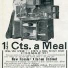 Vintage 1905 Hoosier Mfg Co New Castle IN Indiana Original Early 1900's Magazine Ad Advert