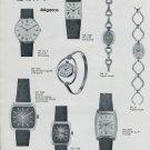 Elix Mougin-Piquard SA Watch Company France 1975 French Ad Publicite Montres