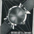 Bourquard SA Vernier SA Vintage 1956 Swiss Print Ad Suisse Publicite Horlogerie Horology