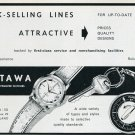 Restawa Watch Co Switzerland Original 1960 Swiss Print Ad Advert Publicite Suisse Schweiz