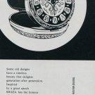 1960 Swiza Clock Company Moutier Switzerland Swiss Print Ad Advert Publicite Suisse Schweiz