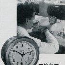 Favag SA Clock Company Neuchatel Switzerland 1947 Swiss Magazine Ad Publicite Suisse Suiza