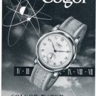 Colgor Watch Company Rob Brandt Switzerland Vintage 1956 Swiss Print Ad Publicite Suisse Montres
