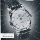 Montres Octo SA Watch Co Switzerland Vintage 1956 Swiss Print Ad Publicite Suisse Octo Lakemaster