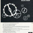 1965 Les Fabriques de Balanciers Reunies SA FBR Swiss Print Ad Publicite Suisse