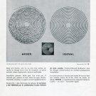 Vintage 1960s Spiraux Reunies Isoval Publicite Suisse Schweiz 1969 Swiss Ad Horology
