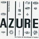 1969 L'Azurea Celestin Konrad Suisse Publicite Vintage 1960s Swiss Print Ad Horology