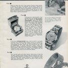 1956 Ulysse Nardin SA Watch Company L'heure de Faire le Point Swiss Print Ad Publicite Suisse