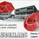 Vintage 1969 Audemars Switzerland Publicite Suisse Swiss Print Ad Horology Horlogerie