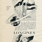 Vintage 1953 Longines Precious As Time Itself Swiss Print Ad Publicite Suisse Montres Switzerland