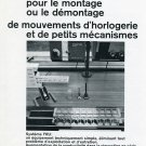1969 Reno SA Publicite Advert Systeme FRU Swiss Print Ad Suisse Magazine Advert Horology