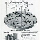 Vintage 1969 Henri Hauser SA Publicite Contourneuse-Transfert H7 Magazine Advert