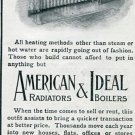 1905 American Radiator Company Ideal Boilers Heat Heating Original early 1900's Vintage Ad Advert