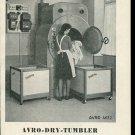 Vintage 1947 Advert Avro Dry Tumbler A von Rotz Swiss Print Ad Publicite Suisse Schweiz