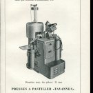 Vintage 1947 Tavannes Machines Co SA Swiss Print Ad Publicite Suisse Schweiz Switzerland