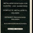 Vintage 1947 Advert Color-Metal AG Aluminum Farberei Swiss Ad Suisse Publicite Schweiz
