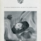 Vintage 1947 IWC International Watch Company Switzerland Swiss Print Ad Publicite Suisse Montres