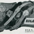 Vintage 1945 Zila Watch Company Switzerland Swiss Print Ad Suisse Publicite Montres Schweiz