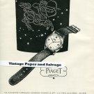 1945 Ancienne Fabrique Georges Piaget & Cie Piaget Watch Co Swiss Print Ad Publicite Suisse Montres