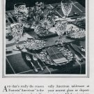 Vintage 1936 Fostoria Glass Co Moundsville West Virginia 1930s Print Ad Publicite Advert