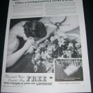 Vintage 1936 Listerine Often a Bridesmaid Never a Bride 1930s Print Ad Advert Lambert Pharmical