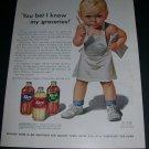 Vintage 1943 Karo Syrup Corn Products Refining Company WW2 Print Ad Advert Corn Syrup