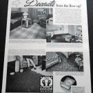 Vintage 1936 Bigelow Weavers Bigelow-Sanford Carpet Co Rugs 1930's Print Ad Publicite Advert